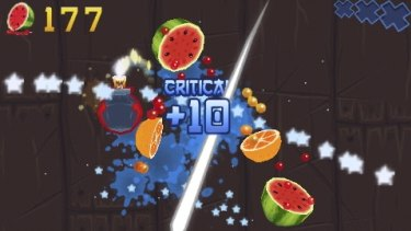 Fruit Ninja was developed in Brisbane and has managed to become an international success.