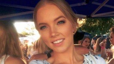 Sara Zelenak, from Brisbane, is missing in London.