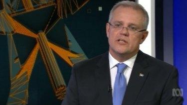 "Scott Morrison said he was ""realistically optimistic about Australia's economic future""."