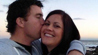 Kate Malonyay and her then boyfriend Elliott Coulson