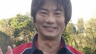 Tadashi Nakahara, who was killed by a shark on Monday morning.