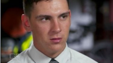 Dylan Voller has been arrested at a rally in Alice Springs.