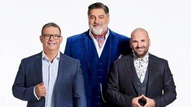 The hosts of MasterChef.