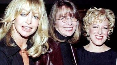 Back together on the big screen for the first time in 20 years: Goldie Hawn, Bette Midler and Diane Keaton.