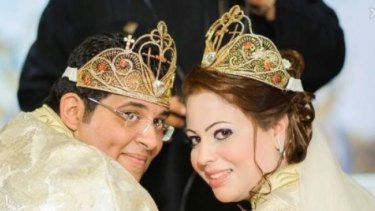 Franswa Philip Fathy, nephew of Eman Sharobeem, and his wife Dalia Saeed, to whom ICAC alleges more than $500,000 was transferred by the Sharobeem family.