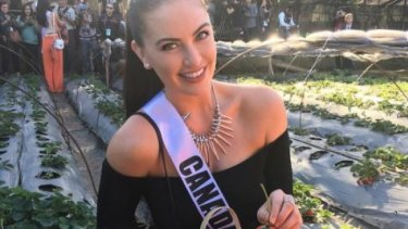 Siera Bearchell who is competing as Miss Canada has used social media as a platform to encourage body diversity.