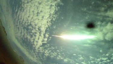 DFN's network of cameras tracked the fireball across WA's skies.