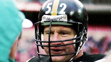 Pittsburgh Steelers centre Mike Webster in 1988.