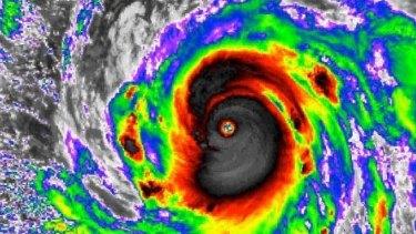 Typhoon Meranti.