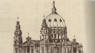 The proposed Holy Name Cathedral in Brisbane.
