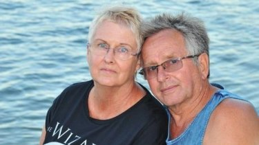 Jenny and Dieter Gass of Latrobe Valley, Victoria, had been holidaying for three weeks in their caravan.