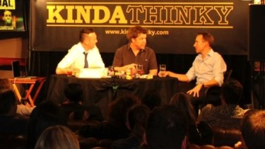 Kinda Thinky is an irreverent theme-driven live chat show.