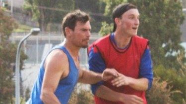 Matt Zurbo (left) in aciton.