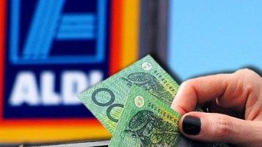 Aldi's advertising spend in Australia is growing.