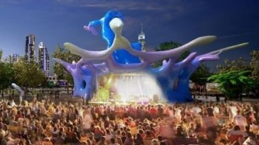 Stage one of the Gold Coast's new arts precinct.