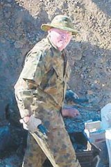 Shane Della-Vedova, who stole and then sold 10 rocket launchers from a military base in Queensland. Nine remain missing.