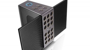 If you favour Miles Davis over Miley Cyrus then BenQ's treVolo portable electrostatic speaker could be for you.