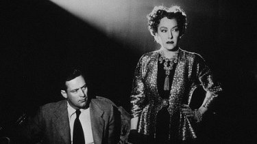 A scene from the 1950 film <i>Sunset Boulevard</I>.