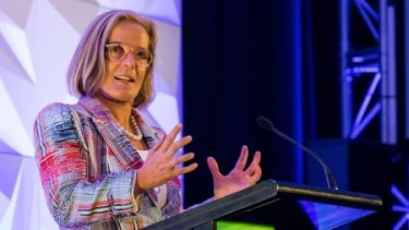 Lucy Turnbull, the chief commissioner of the Greater Sydney Commission, which must finalise a land-use and housing plan for Sydney by the end of the year.