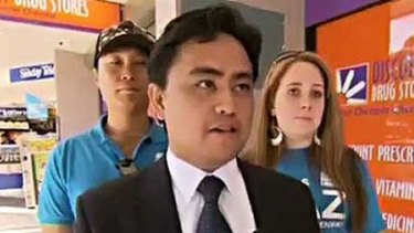 Jaymes Diaz failed in his bid for the seat of Greenway in the 2013 election after a Channel 10 interview.