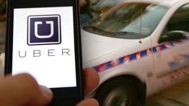 Uber and the ATO have been at odds over whether uberX drivers need to pay GST like taxi drivers.