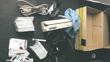 Items seized by Queensland Police Service during Operation North Overcast.