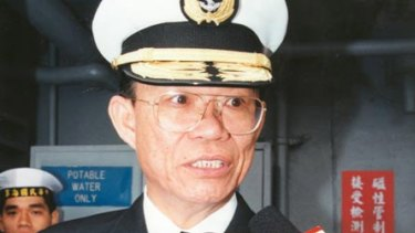 Retired vice admiral Ko Cheng-seng was found guilty of passing classified defence information to China.