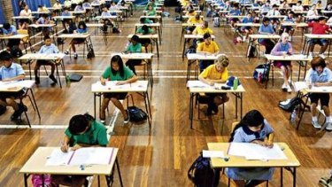 More than 1 million students across the country took the NAPLAN written test on Tuesday.