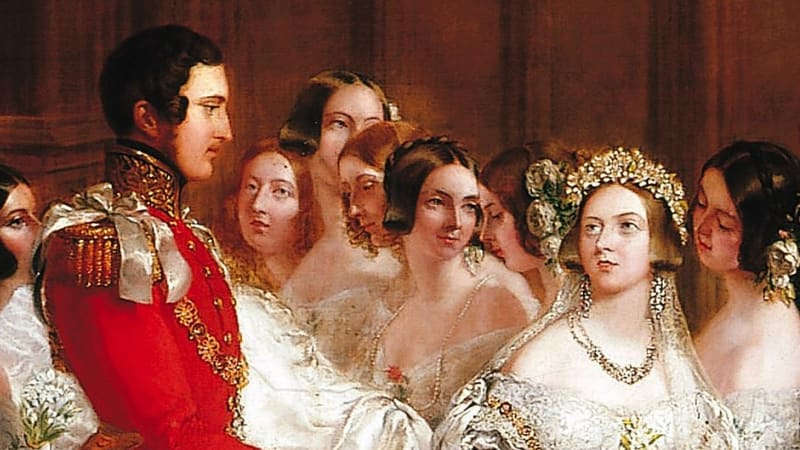 Queen Victoria bridesmaids