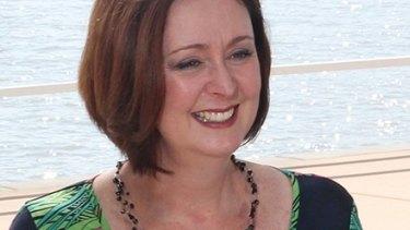 Outgoing Deagon councillor Victoria Newton.