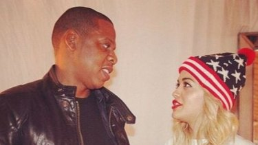 """Could Beyonce have been referring to Rita Ora when she sang """"Becky with the good hair""""? Her fans seem to think so."""