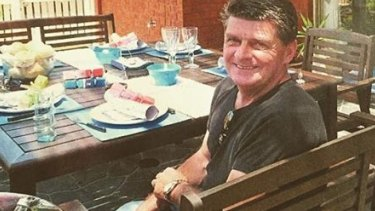 Gary Faull had been raking leaves outside his neighbour's Corio home when he was hit by a trailbike. He died 10 days later.