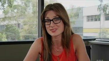 Controversy: <em>Catalyst </em>reporter Maryanne Demasi.