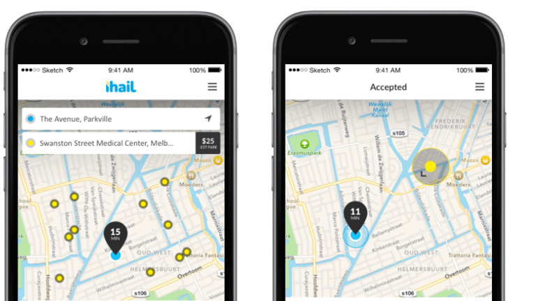 The Taxi industry's rival to Uber is its own app iHail.