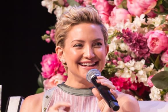 Kate Hudson at the Business Chicks lunch in Sydney on Tuesday.