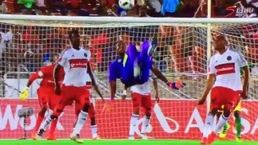 Oscarine Masuluke's goal would have made the Likes of Lionel Messi and Cristiano Ronaldo proud.