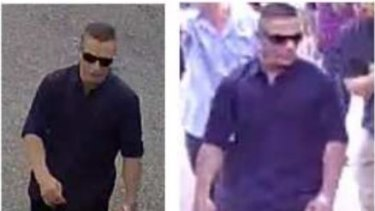 Police want to speak to this man over the incident.