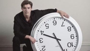 Xavier Samuel in <i>The Death and Life of Otto Bloom</i>. His character remembers the future and has no knowledge of the past.