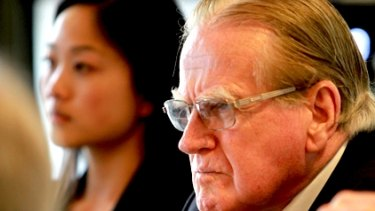 Fred Nile's party urged Chinese Christian churches to make a stand on same-sex marriage.