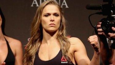 Next challenge: UFC Strawweight Champion Ronda Rousey