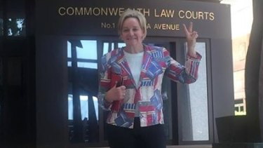 Alannah MacTiernan after securing the Roe 8 documents after three years of fighting.