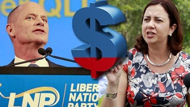 You can find odds for Campbell Newman and Annastacia Palaszczuk with relative ease.