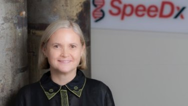 Alison Todd says SpeeDx has grown from a small team of four to more than 40, who work to develop, manufacture and sell medical tests throughout the world that are used to stop superbugs.