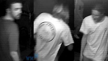 Police are searching for two men after a man was assaulted in the Valley