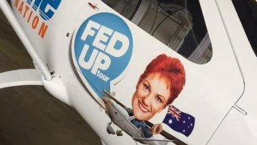 The One Nation plane.