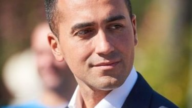 Luigi Di Maio, vice-president of Italy's lower house of Parliament, and leader of the 5-Star movement.