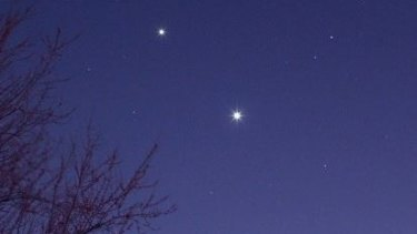 """The Facebook page """"Jupiter and Venus together"""" has been created for the rare event."""