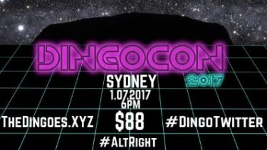 The Dingoes' conference ad on Twitter. They have claimed Mike Enoch as their special guest speaker.