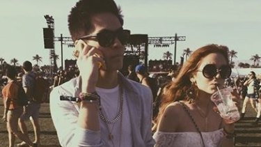 Carter Reynolds and Maggie Lindemann in happier times.