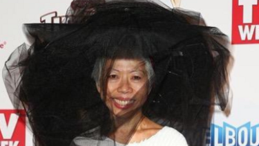 Cult following ... SBS host Lee Lin Chin is not your typical bland, safe network star.